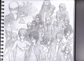 Harry Potter DH by Music-Piyada