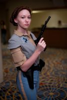 Endor Leia at DragonCon by Verdaera