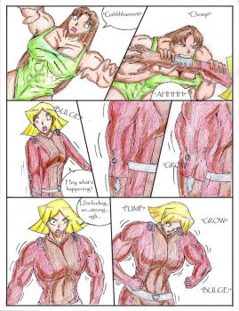 Totally Spies Growth Comic Pg 6 by GrandMasterLucilious