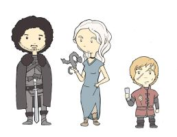 Games of thrones chibis by xpibx