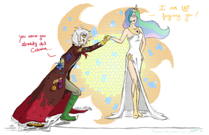 There is no harmony without chaos by Rinikka
