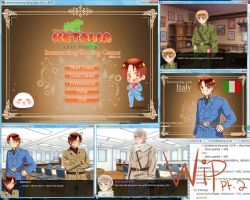 [W.I.P pt.2] Hetalia: Interacting Dating Game by xXKikaru-ChanXx