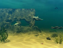 Underwater Fantasy Stock by Casperium