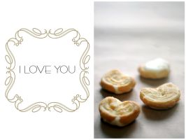 I love you... and cookie by keffi