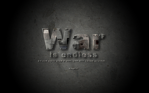 War is endless by Kingxlol