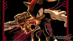 Shadow the Hedgehog Wallpaper by SpyxedDemon