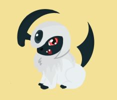 Chibi Absol by Bowie94