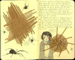 Black Widows - journal36 by LadyOrlandoArt