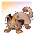 52- Meowth by carnival