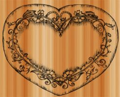 Sketchy Heart-Vector by Stockgraphicdesigns