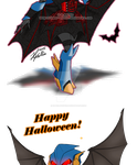 Halloween Trade: NotsoMajestic by Imber-Noctis