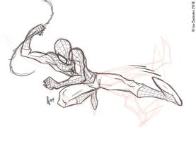 Spidey Pose 12-02-14 by 2Ajoe