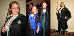 Cosplay: Winter, the Slytherin by TempestFae