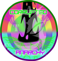 Amzy's Corrupted Anarchy Faction Symbol by AmzyTheChangeling