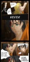 Mark of Athena: Never Again by LMPandora
