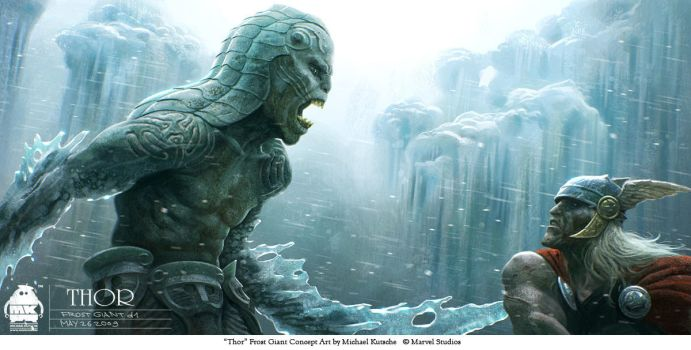 Thor - Frost Giant Concept 3 by michaelkutsche