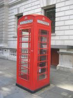 The Telephone Booth by redglassfire
