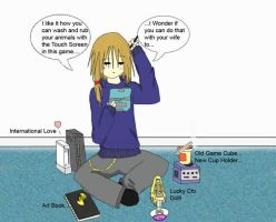 Me - Playin Harvest Moon DS by Omega-Jester