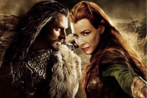 thorin x tauriel by Bleach-Fairy