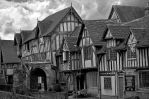 Lord Leycester Hospital Warwick by Jumpfer-Stock