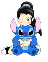 kary y stitch by kary22