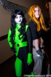 ColossalCon 2015 - Shego and Kim Possible by VideoGameStupid