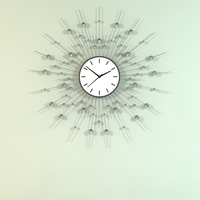 Decorative Wall Clock Model by TaraLeee