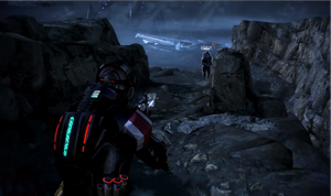Mass Effect Hud02 - Blue by Nuranon