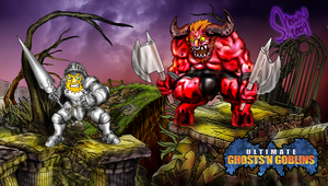 Ultimate Ghosts n Goblins by LukeLlenroc