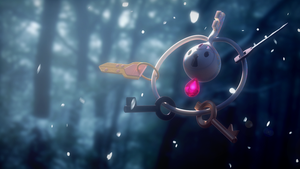 Klefki in Winter by 3DBear