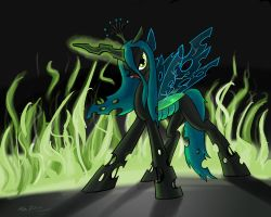 changeling princess by Abrr2000