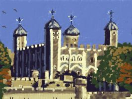 Tower of London by Dialektik