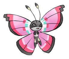 Vivillon by Wolframclaws