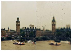 rainy London by thebestfeeling