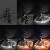 Celestial Loss [WIP] by AssasinMonkey