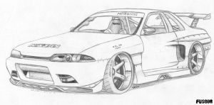 Skyline R32 GT-R by FuseEST