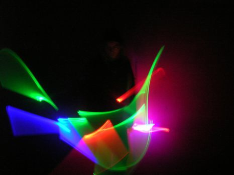 Fun with Glow sticks 2 by Quirky-Middle-Child
