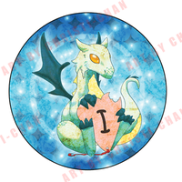I Heart Dragons Button by christi-chan