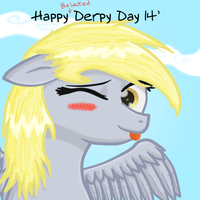Belated Derpy Day 14' by DespisedAndBeloved