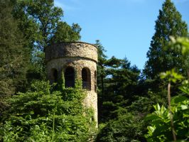 Chimes Tower 5 by Dracoart-Stock