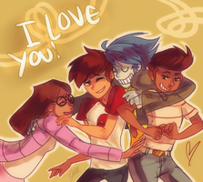DEDICATED TO ONE AMAZING FANDOM. by HydroCyanide