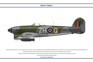 Typhoon GB 266 Sqn 1 by WS-Clave