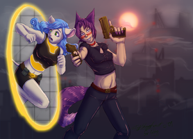 Art Trade: Cat-cophony by MutationIvo