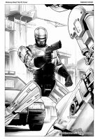 Robocop Road Trip Cover Art by FabianoNeves