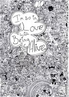 I'm so in love with being alive by AllyRat