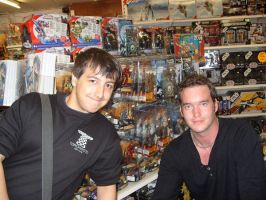 Me and Gareth David Lloyd by snow-white-king