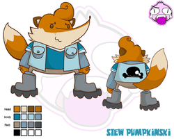 Stew Pumpkinski by SolomonMars