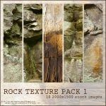 Rock Texture Pack 1 by alien-dreams