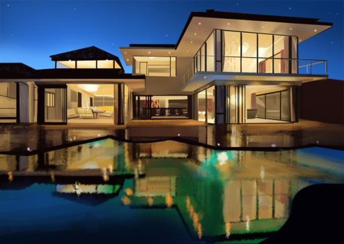 Southafrica Luxuryhouse_Study by PrabhuDK