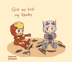 GIVE ME BACK MY RHODEY by seventhdemigod